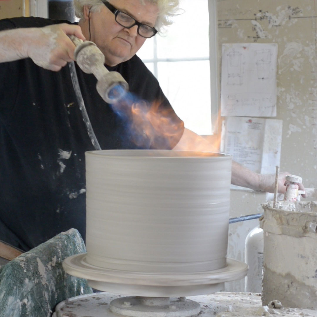 David Smyth Making Water Filter Crock