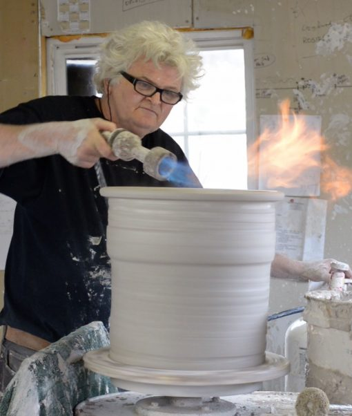 David Smyth Torching A Water Filtration Crock