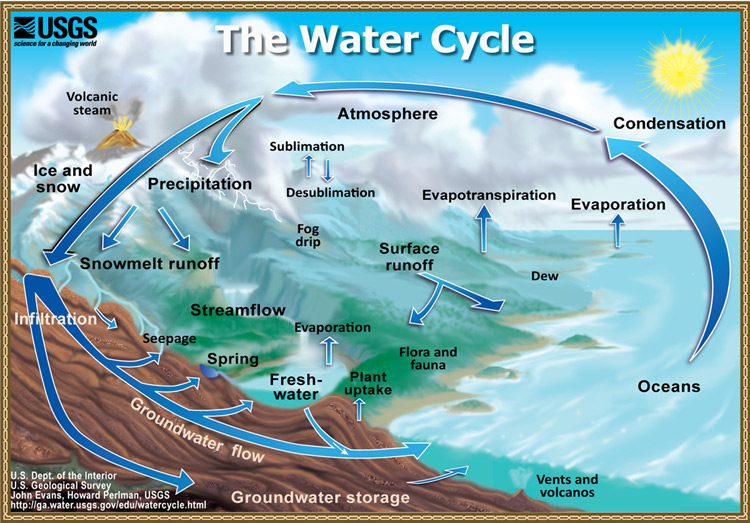 Water Cycle: Where Drinking Water Comes From