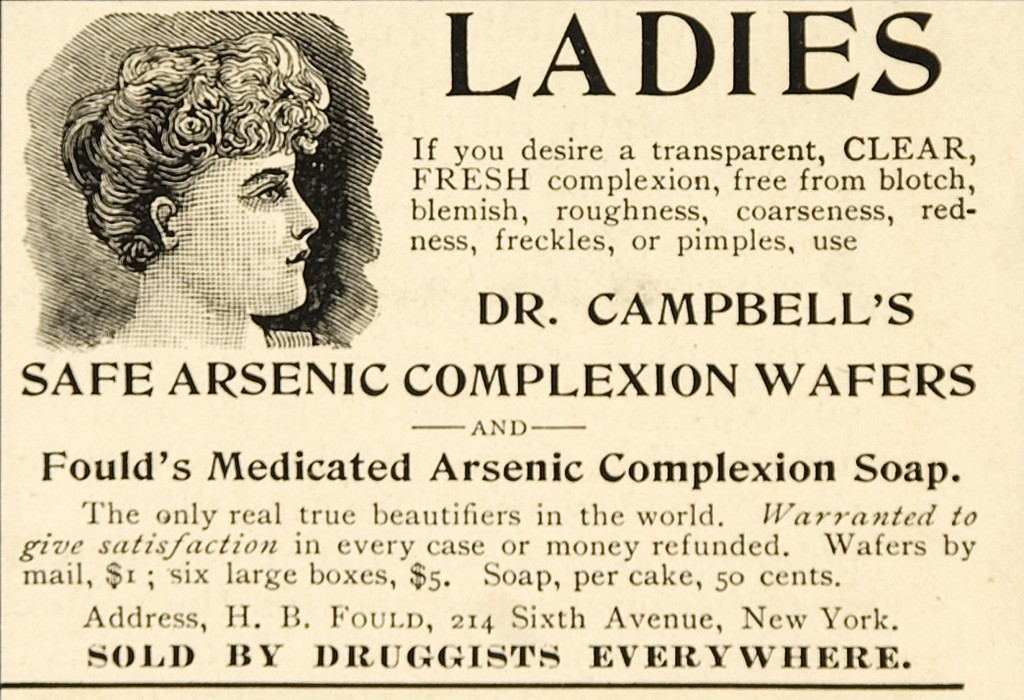 how to detect arsenic in water