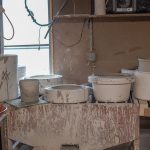 Making stoneware water cooler
